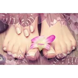 Beauté des pieds + semi permanent